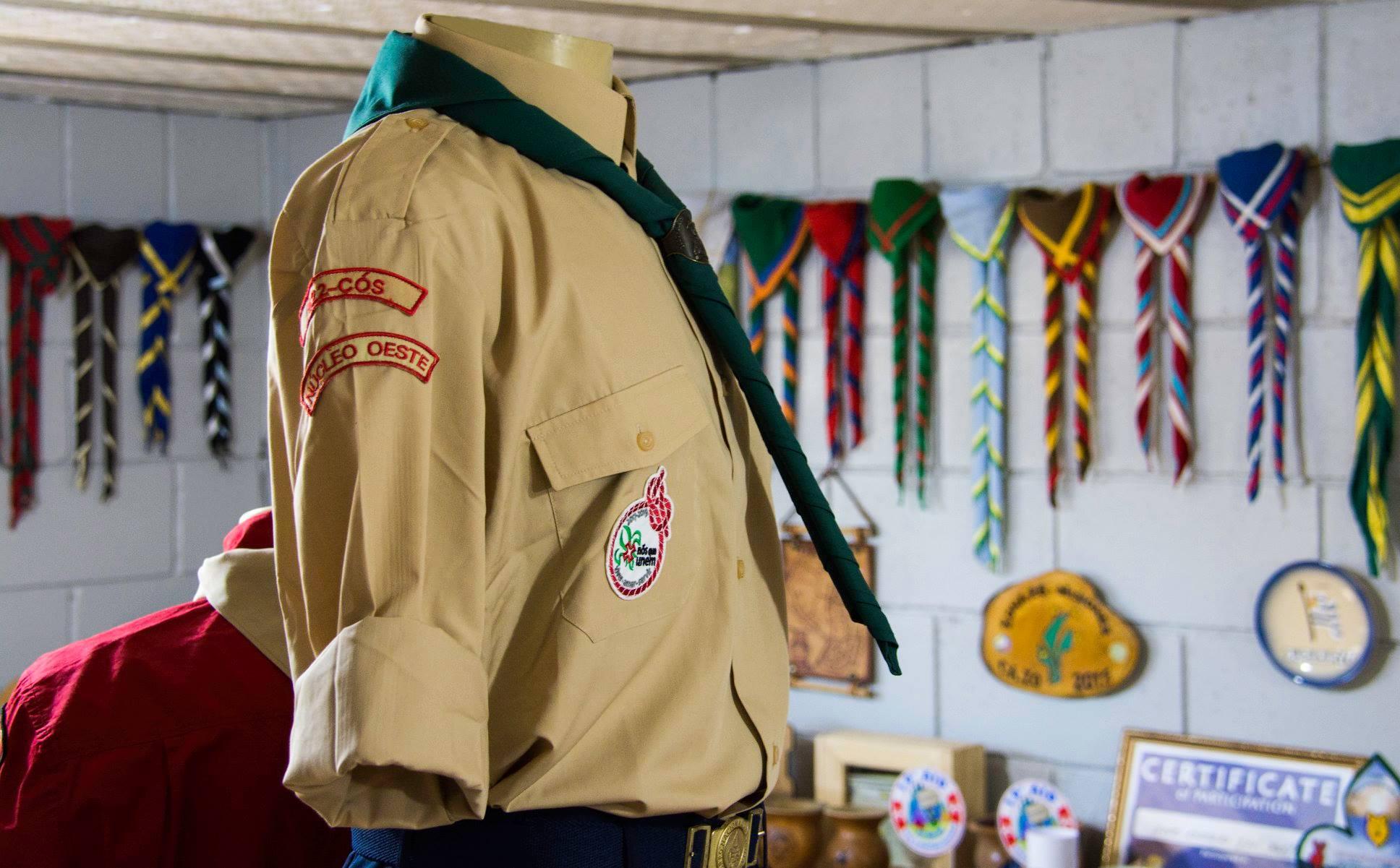 Espaço Cultural do Escotismo no Grupo Escoteiro Ijuí.