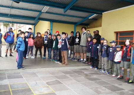 EducAÇÃO Escoteira Grupos Isaac Bauler e Mate Amargo