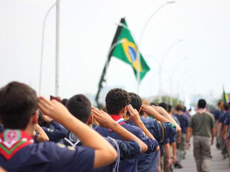 Escoteiros marcam presença no Desfile da Independência