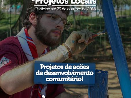 Projetos focados em Desenvolvimento Comunitário