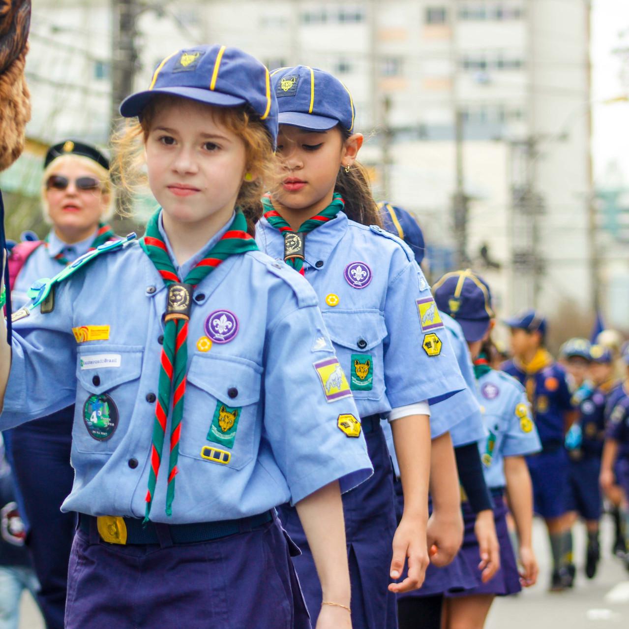 Desfile em Caxias do Sul