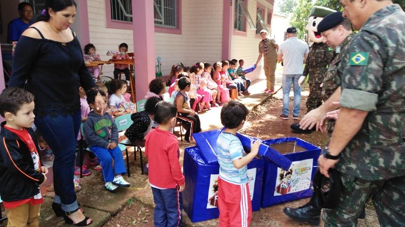 Campanha Criança Feliz em Cruz Alta