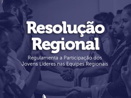 Resolução Regional   Jovens Líderes