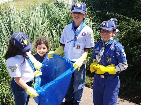 Escoteiros participam do Dia Nacional da Amazônia Azul