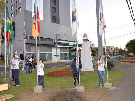 Grupo do Mar Marques do Herval participa da Semana da Pátria