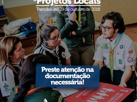 Documentação necessária para o Edital de Projetos