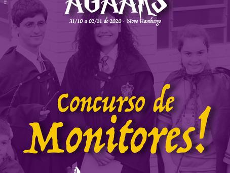 AGAARS 2020 | Concurso de Monitores