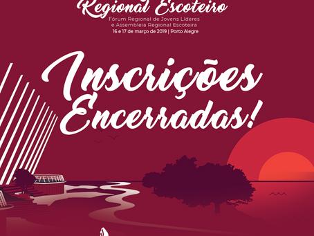 Congresso Regional | Inscrições Encerradas