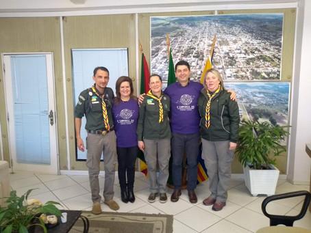 Visita na Prefeitura de Soledade