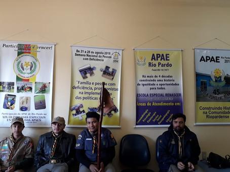Atividades do Grupo Itacolomi no Mutirão de Inclusão