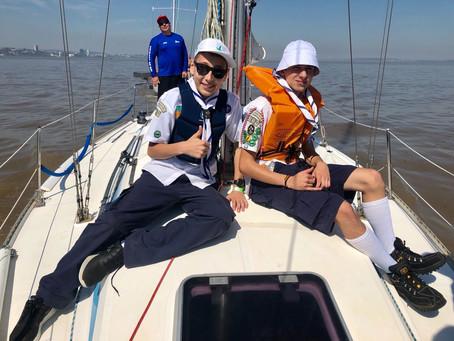 Grupo do Marques do Herval cumpre o Desafio Naval