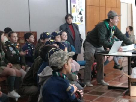 Atividades do Grupo Guaracy no Mutirão de Inclusão