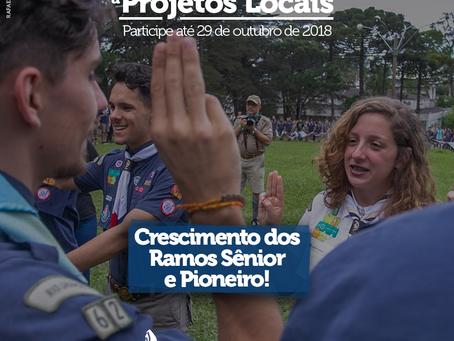 Projetos para crescimento dos Ramos Sênior e Pioneiro