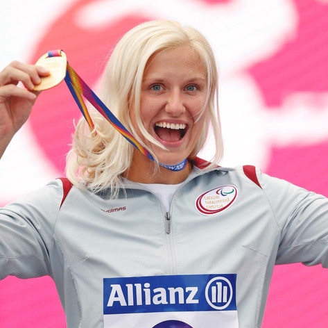 Diāna Dadzīte, paralimpiskā čempione