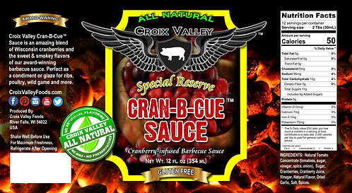Cran-B-Cue Sauce