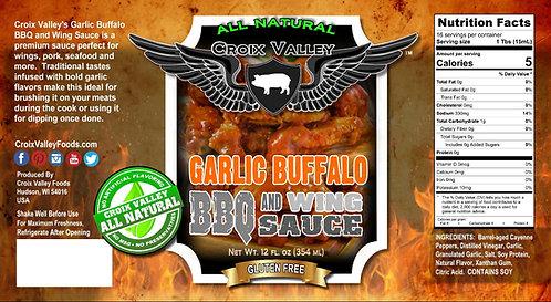 Garlic Buffalo BBQ and Wing Sauce