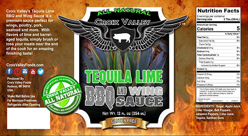 Tequila Lime BBQ and Wing Sauce