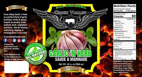 Garlic 'n Herb Sauce & Marinade