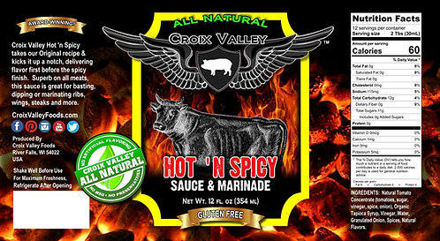 Hot 'n Spicy Sauce & Marinade