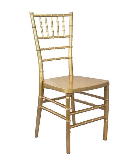 Gold Chiavari Chairs with cushion