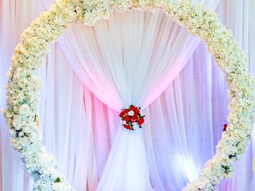 Round Flower Arch