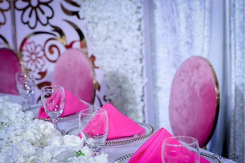 Blush Dior Chairs