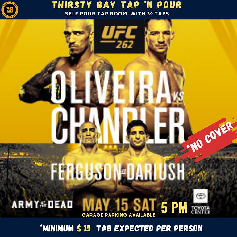 UFC 262 WORLD LIGHT WIEGHT CHAMPIONSHIP OLIVEIRA VS CHANDLER