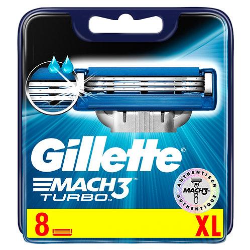 Rasierklingen Gillette Mach3 Turbo XL 8 Stück