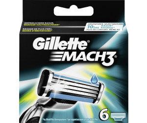 Rasierklingen Gillette Mach3 6 Stück Klingen