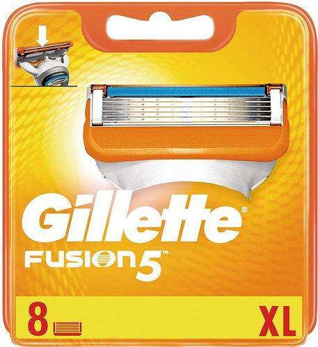 Ohne Verpackung - Rasierklingen Gillette Fusion5 8 Stück XL