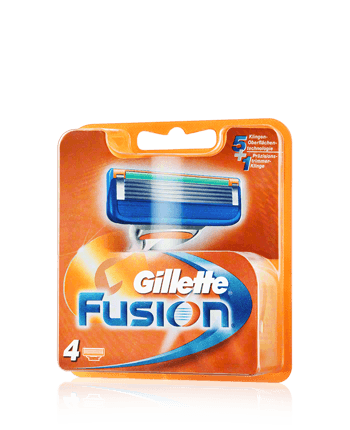 Ohne Verpackung - Rasierklingen Gillette Fusion5 4 Stück