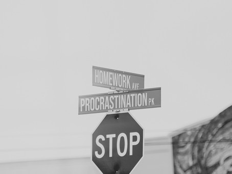 Procrastrination, poscatination, postactination....Parlons de la procrastination !