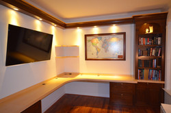 Claus Walnut & Maple Home Office