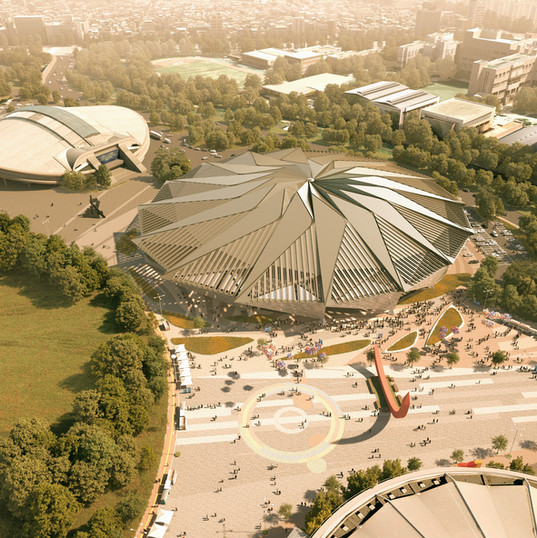 OLYMPIC GYMNASTICS ARENA AND CONCERT HALL RENOVATION