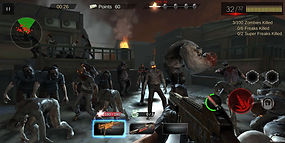 outbreak dead crisis zombie shooter roof
