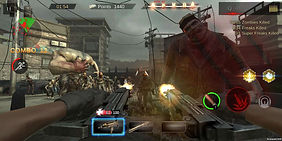 outbreak dead crisis action shooter mobile