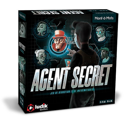 Jeu Monts-à-mots - Agent secret
