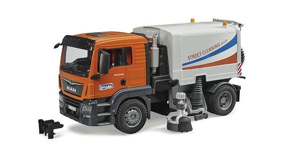 Bruder - MAN Camion nettoyeur de rue