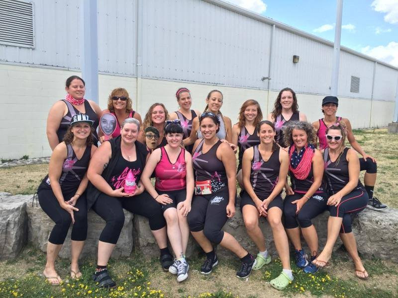 Lehigh Valley Rollergirls All-Stars visit Canada