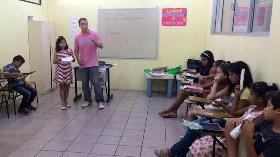 Sala da Escola Bíblica