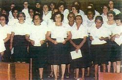 Coral de Mulheres - anos 80