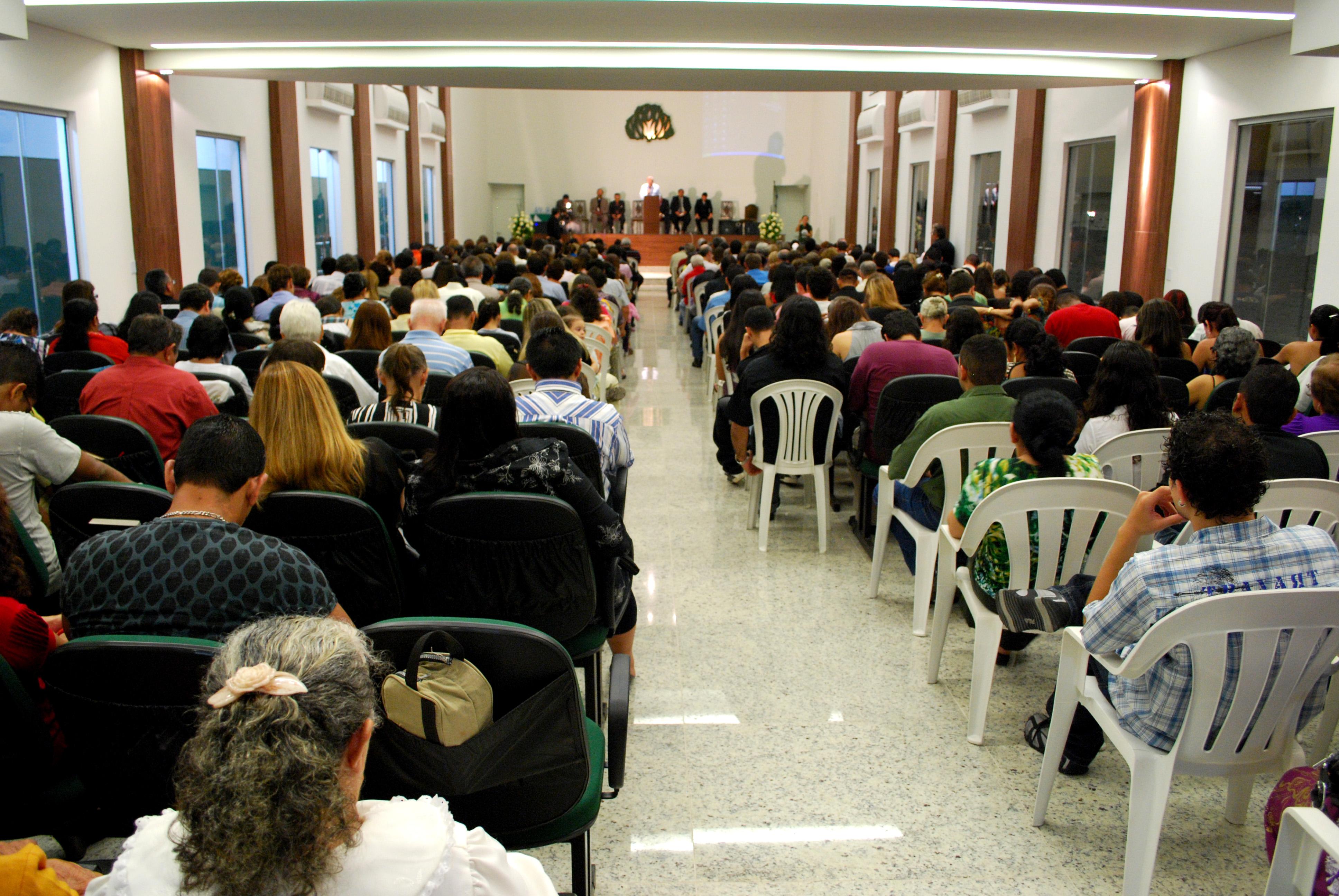 Público no Templo