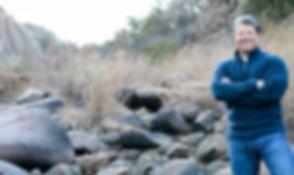 Kevin L. Brooks author of The Lost Gospel of Barabbas, Hunter, Adventurer, Fisherman, Father, Son