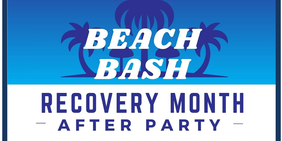 Recovery Month After Party