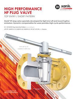 high performance hf plug valve | xanik