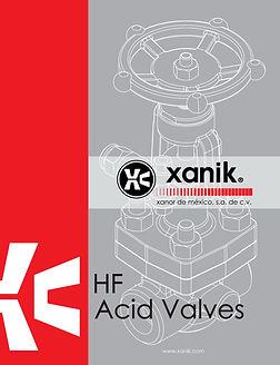 hf acid valves catalog | xanik