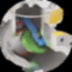 xanik | HF swing check with internal hinge pin