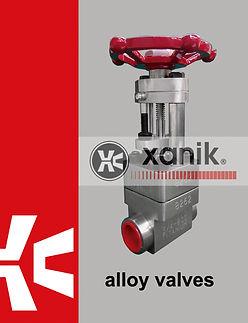 alloy valves catalog | xanik