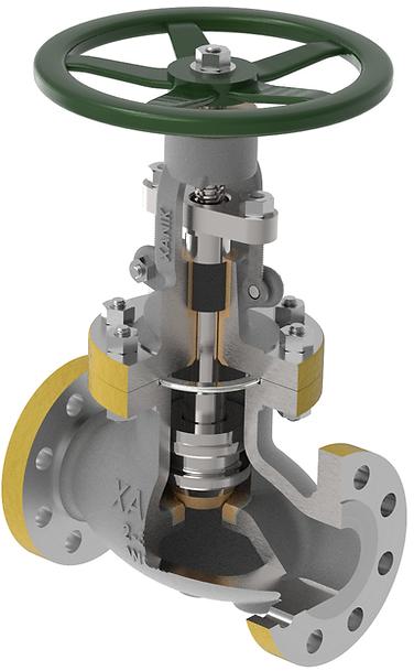 xanik | hf globe valves
