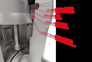 xanik | pressure seal valve assembly